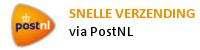 Snelle verzending via PostNL